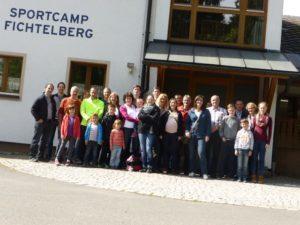 Ankunft im BLSV Heim Fichtelberg