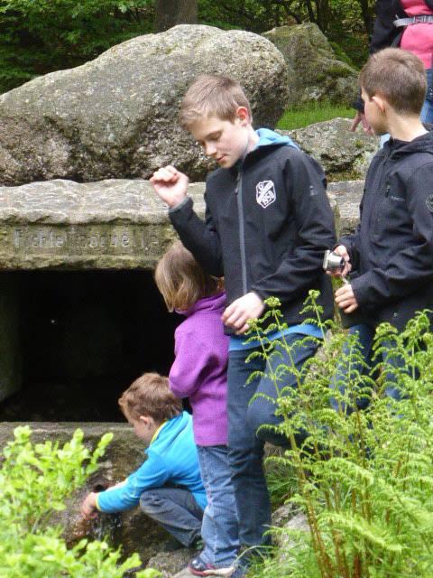 Steine sammeln am Ochsenkopf