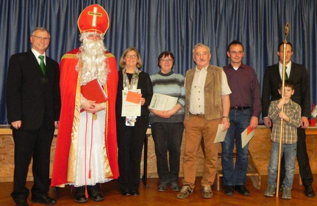 Nikolausfeier und Ehrung langjähriger Mitglieder 2019